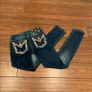 Girls Miss Me skinny jeans
